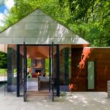 Nevis Pool and Garden Pavilion; Bethesda, MD by Robert M. Gurney, FAIA (Photo: Maxwell MacKenzie)
