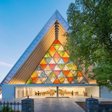 Cardboard Cathedral, 2013, Christchurch, New Zealand. Photo by Stephen Goodenough