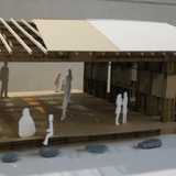 community centre in Minami-san-riku project led by Prof Hiroto Kobayashi