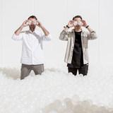 Alex Mustonen and Daniel Arsham of Snarkitecture. Photo by Noah Kalina.