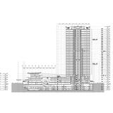 Section - Zhongxun Times by 10 Design in Chongqing. Image courtesy of 10 Design