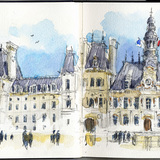 Best in Category - Professional Travel Sketch: Stephanie Bower, STEPHANIE BOWER, ARCHITECTURAL ILLUSTRATION