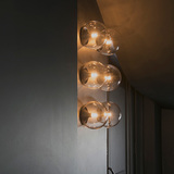 Lighting detail of The Jane restaurant, a former chapel for a military hospital in Antwerp. Photo courtesy of .PSLAB.