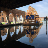 Makoko Floating School II at the Venice Biennale 2016. ©NLÉ
