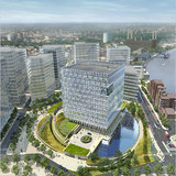 Proposal for new American embassy in London, by KieranTimberlake Architects. Image via nytimes.com