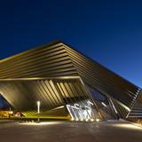 Eli & Edythe Broad Art Museum at MSU by Zaha Hadid architects. © Brad Feinknopf