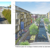 SPECIAL JURY AWARD - SMALL/MEDIUM COMMUNITY URBAN DESIGN AWARD: City of Nanaimo Downtown Urban Design Manual and Guidelines (Nanaimo, BC) by D'Ambrosio Architecture + Urbanism. Images produced by D'Ambrosio architecture + urbanism and Citizen Plan in cooperation with the Nanaimo Planning...