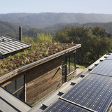Home in the Hills in the Santa Cruz Mountains, CA by Geoffrey Holton and Associates (team member: David Waldorf, Photo: Muffy Kibbey)