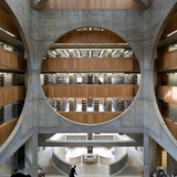 Phillips Exeter Academy Library, Exeter, New Hampshire. Louis Kahn, 1965-72. Photo: Iwan Baan