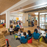 Health & Education: Our Lady of the Assumption Catholic Primary School Stage 1   North Strathfield, NSW, Australia by BVN. Photo courtesy of INSIDE - World Festival of Interiors.
