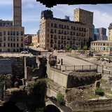 Panorama of the mill ruins (Image courtesy of Minneapolis Parks Foundation)