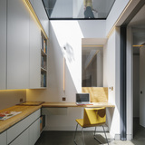 West London House in Hammersmith, UK by Neil Dusheiko Architects; Photo   Charles Hosea and Agnese Sanvito