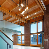 Interior of the Baggage Building Arts Centre