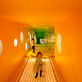 Interiors Merit Award Winner: The Children's Museum of the Arts in New York, NY by WORKac (Image Credit: Ari Macropoulos)