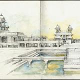 KRob 2012, Best in Category - Travel Sketch: Stephanie Bower, STEPHANIE BOWER, ARCHITECTURAL ILLUSTRATION
