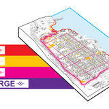 Resist, Delay, Store, Discharge: A Comprehensive Strategy for Hoboken by OMA. Photo via rebuildbydesign.org