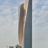2nd Place: Al Hamra Tower, Kuwait City, 412 m, 80 floors (Copyright: Pawel Sulima / SOM)