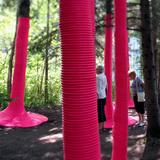 Pink Punch in Jardin de Metis, Canada by Michaela MacLeod with Nicholas Croft