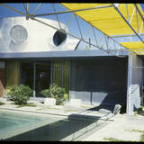 Albert Frey house in Palm Springs, from Fritz Block's collection. Image via digitallibrary.usc.edu.