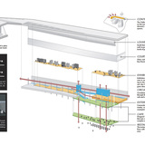 Gallery & Cinema volume diagram (Image: H Architecture & Haeahn Architecture)