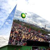 London 2012 BP pavillion by Doug Mills:The New York Time