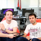 OpenBuildings Co-Founders: COO Tom Mallory (left) and CEO Adel Zakout (right)
