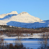 Photo of the national park seen from Vatnvatnet (Photo: Tor Egil Kvalnes)
