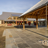 The LenFest Management and Preserve Center at ChesLen Preseve in Coatesville, Pennsylvania by Archer & Buchanan Architecture, Ltd.