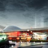 Back plaza (Image: Henning Larsen Architects and Van den Berg Groep)