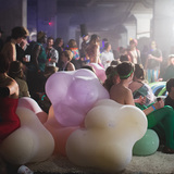The Play Lounge at the Beaux Arts Ball 2013. Photo: GLINTstudios