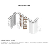 Infrastructure. Ground/Work Competition Finalist Entry by Of Possible Architectures. Image courtesy of OPA.