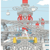 """HONORABLE MENTION: Julien Nolin for """"Amazonia Pier: Manufacturing an Architecture of Pleasure"""""""
