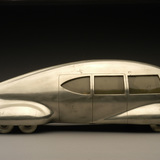 Norman Bel Geddes, Motor Car No. 9 (without tail fin), ca. 1933 Image courtesy of the Edith Lutyens and Norman Bel Geddes Foundation / Harry Ransom Center.