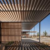 Craigieburn Library in Australia wins Public Library of the Year Award 2014: Craigieburn Library, Hume City, Victoria, Australia, designed by architect Francis-Jones Morehen Thorp. Photo courtesy Public Library of the Year Award 2014.
