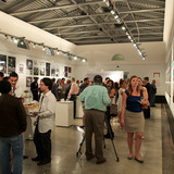 At the opening event of the DawnTown Miami   The First Four Years of Ideas exhibition, Nov 9, 2011