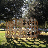 Wunderbugs - Interactive architecture for insects and humans in Rome, Italy by OFL Architecture