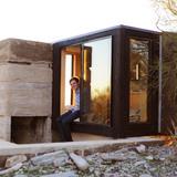 Frank Lloyd Wright School of Architecture Shelter in Taliesin West, AZ by David Frazee