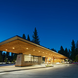Tahoe City Transit Center; Tahoe City, CA by WRNS Studio (Photo: Bruce Damonte/WRNS Studio)