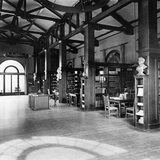 Mills College Library in Oakland. Mills College, F. W. Olin Library, Special Collections.