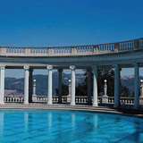 Hearst Castle in San Simeon, Calif. Image courtesy of Mark Anthony Wilson; Julia Morgan, Architect of Beauty.