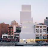 New Museum of Contemporary Art in New York, New York, by Kazuyo Sejima + Ryue Nishizawa / SANAA. Image courtesy of the MCHAP.