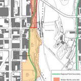 Water Works – Scope Area (Image courtesy of Minneapolis Parks Foundation)