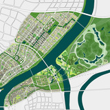Green Loops City: master plan © ADEPT