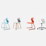 FURNITURE: PRO Chair Family. Designed by Konstantin Grcic. Photo courtesy of Designs of the Year 2014.