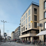 Office Building Vorderer Sternen in Zurich, Switzerland by SAM Architekten und Partner AG; Photo: Roger Frei