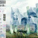 Honorable Mention. Skyvillage For Los Angeles. Ziwei Song (United States)