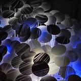 Phase 2: Light Forest installation, AA DLAB: Blue, London / Hooke Park, July - August 2013 (photo: Carol Kan)
