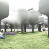 Shinseon Play by MOON JI BANG won the first Seoul edition of the Young Architects Program competition. Image: project team MOON JI BANG