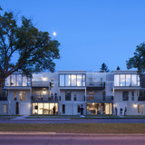 Bloc_10 in Winnipeg, Canada by 5468796 architecture; Photo: James Brittain Photography