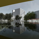 East Cube. Image: Steven Holl Architects.